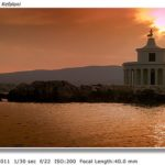 Argostoli Lighthouse at Sunset