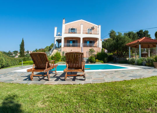 luxury villa kefalonia