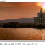 Argostoli Lighthouse at Sunset