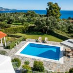 Pool with a View at Luxuryy Villa in Kefalonia