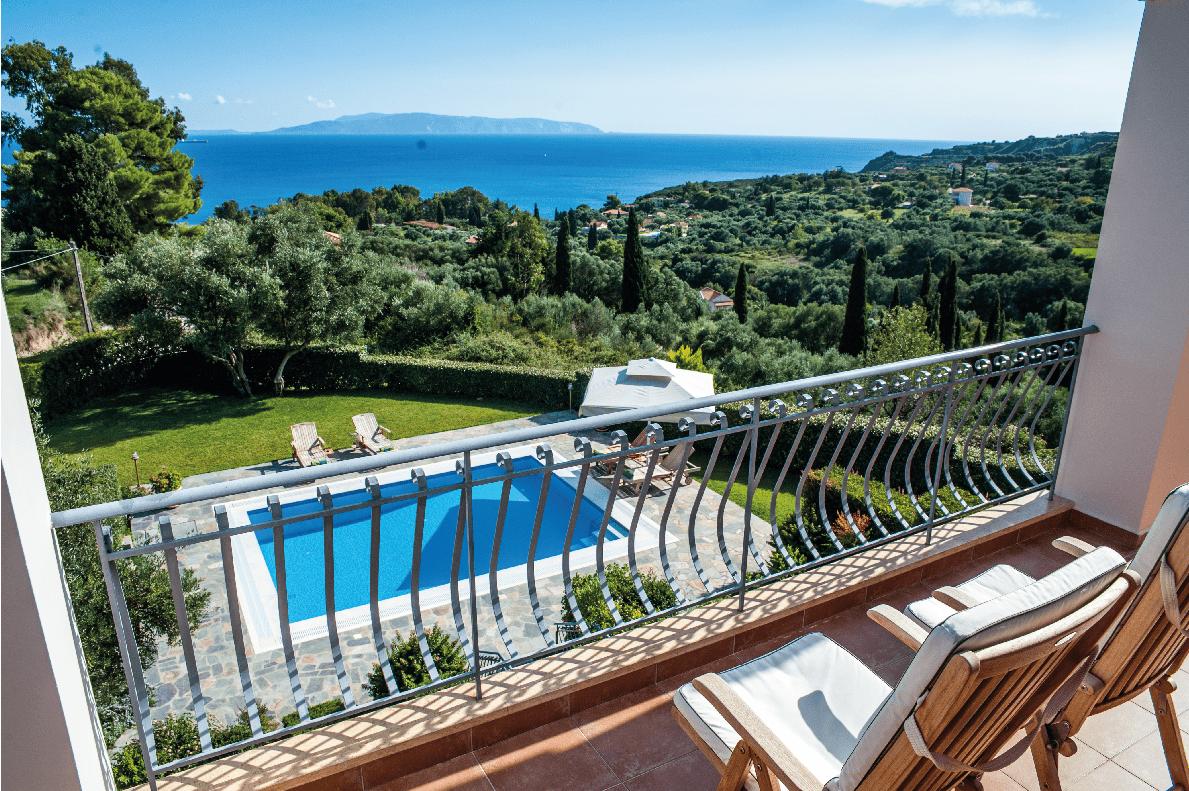 Kefalonia Villa with Sea Views